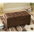 Bella Button Tuft Storage Bench