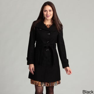 Kenneth Cole Reaction Women's Belted Coat