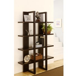 Furniture of America Ellise 4-shelf Display Stand/ Storage Cabinet