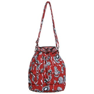 Vera Bradley Deco Daisy Quick Draw Shoulder Bag