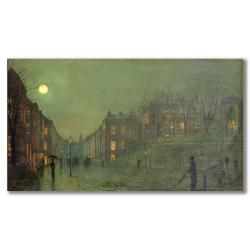 John Grimshaw 'View of Hampstead' Canvas Art