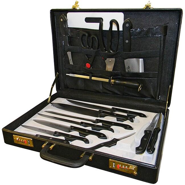 17-piece Nylon Handle Knife Set