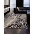 Summerfield Beige Abstract Rug (5'3 x 7'5)