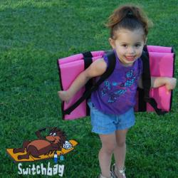 Switchbag Pink Child-sized Mat