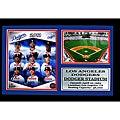 Los Angeles Dodgers 2011 Field Stat Photo Frame