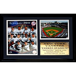 New York Yankees 2011 Photo / Field Stat Frame