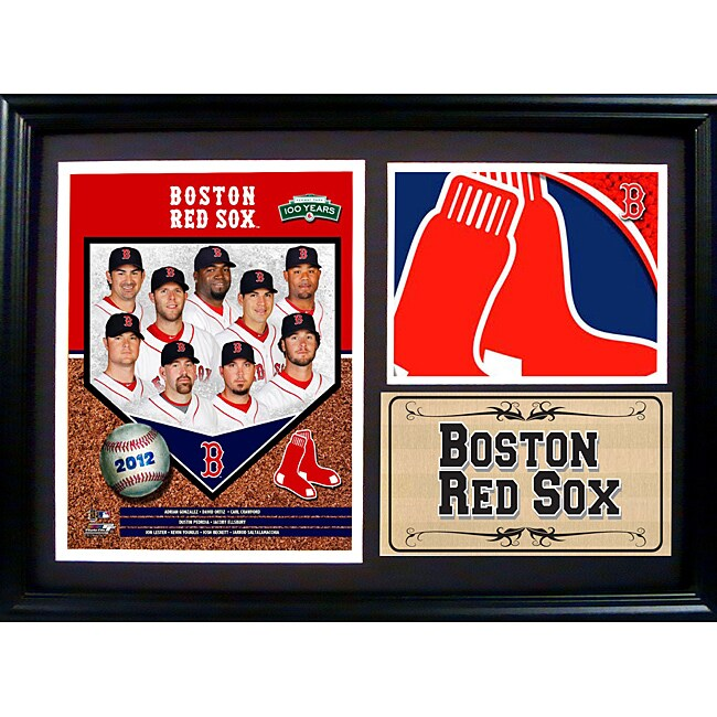 Boston Red Sox 2012 Photo Stat Frame