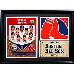 Boston Red Sox 2012 Photo Stat Frame