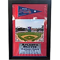 Atlanta Braves Turner Field Pennant Frame