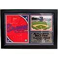 Atlanta Braves Team Logo Photo Stat Frame