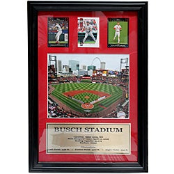 St. Louis Cardinals Busch Stadium 3-card Frame