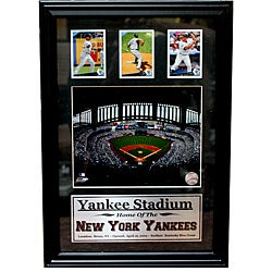 New York Yankees Yankee Stadium 3-card Frame