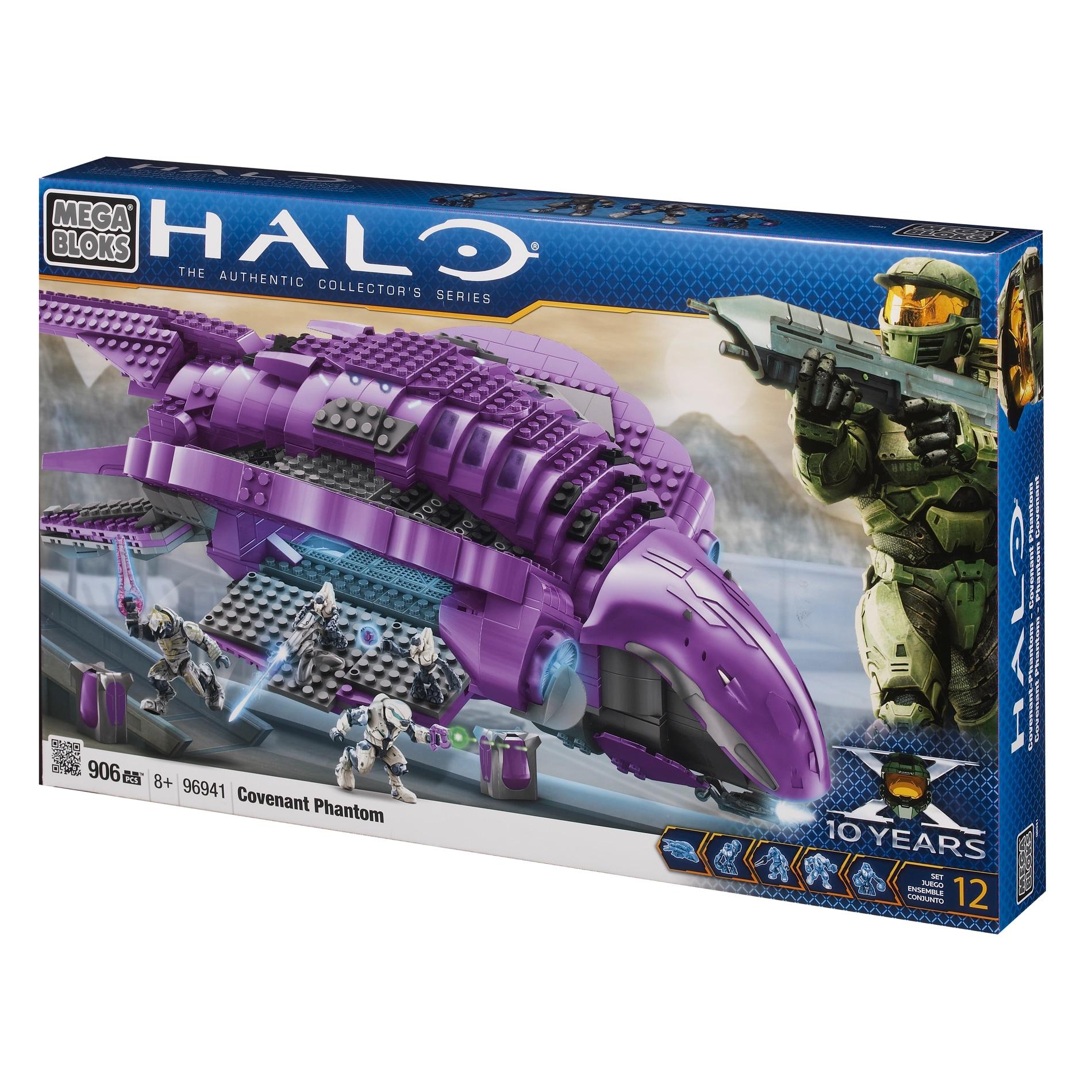 Mega Bloks Halo Covenant Phantom Play Set