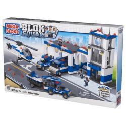 Mega Bloks Blok Squad Police Station Play Set