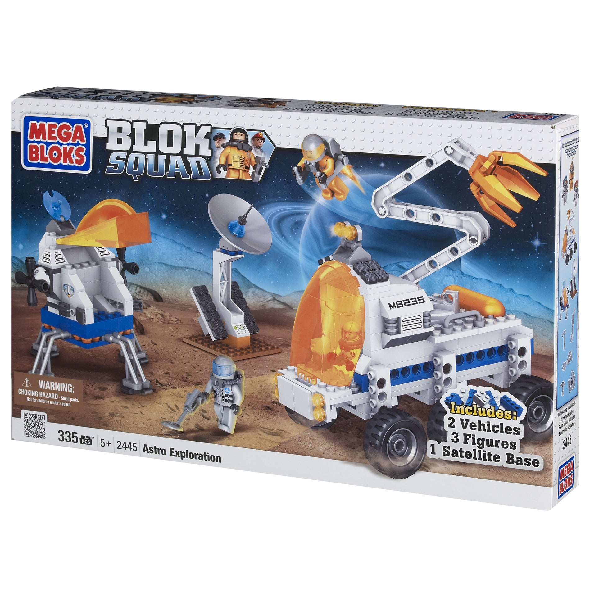 Mega Bloks Space Astro Exploration Play Set