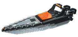 Mega Bloks Probuilder Carbon Speed Boat Play Set