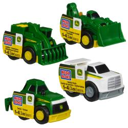 Mega Bloks John Deere Small Vehicle Set