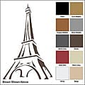 Vinyl Letter Decor 'Eiffel Tower' 33.5-inch Vinyl Wall Decal