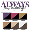 Vinyl Letter Decor 'Always Kiss Me Goodnight' Vinyl Wall Decal