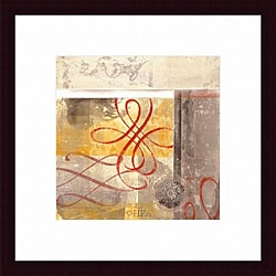 Jonde Northcutt 'Arabesque V' Framed Print