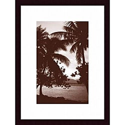 David L. Kluver 'Moorea Morning' Framed Print