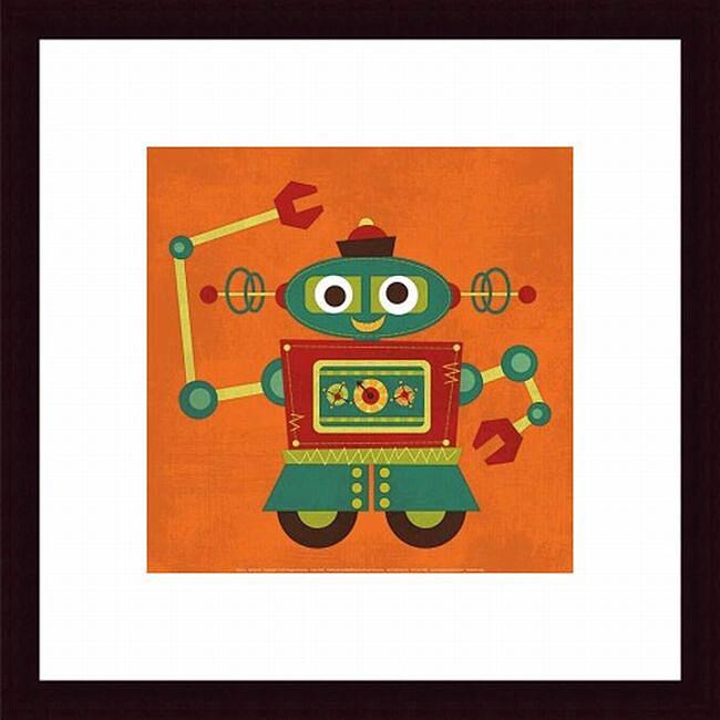 Nancy Lee 'Robot 2' Framed Print