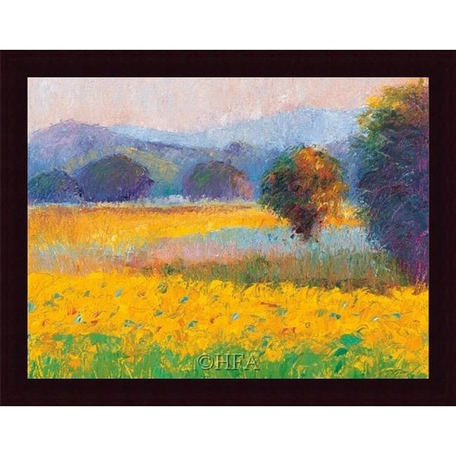 Gail Wells-Hess 'Sunflowers in Provence' Print