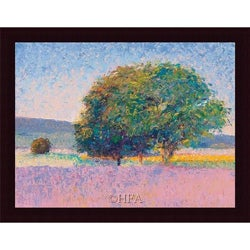 Gail Wells-Hess 'Trees in Provence' Framed Print Art