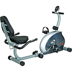 Sunny Health Fitness Magnetic Recumbent Bike