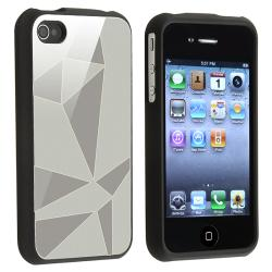 BasAcc Silver Triangle Aluminum Case for Apple iPhone 4