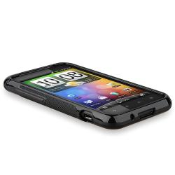 BasAcc Frost Black TPU Case for HTC Droid Incredible S/ 2