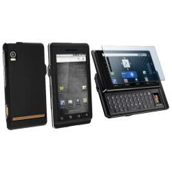 BasAcc Case and Screen Protector for Motorola Droid