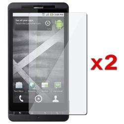 BasAcc Screen Protector for Motorola Droid X MB810 (Pack of 2)