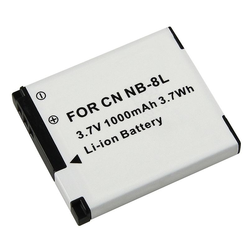 INSTEN Canon NB-8L Compatible Li-ion Battery
