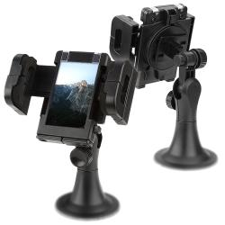 BasAcc Adjustable Universal GPS Windshield Phone Holder