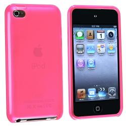 BasAcc Frost Hot Pink TPU Case for Apple iPod Touch Generation 4