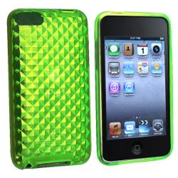 BasAcc Green Diamond TPU Case for Apple iPod Touch Generation 2/ 3