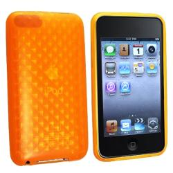 BasAcc Orange Diamond TPU Case for Apple iPod Touch Generation 2/ 3