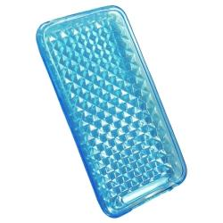BasAcc Blue Diamond TPU Case for Apple iPod Touch Generation 2/ 3