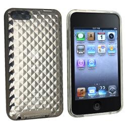BasAcc Clear Diamond TPU Case for Apple iPod Touch 2nd/ 3rd Generation