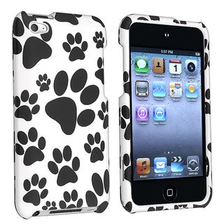 BasAcc Snap-on Rubber Coated Case for Apple iPod Touch 4th Generation