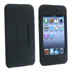 BasAcc Black Silicone Skin Case for Apple iPod Touch Generation 2/ 3