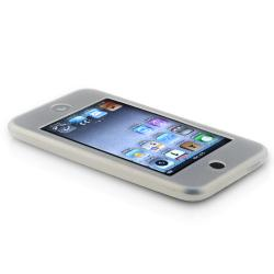 BasAcc White Silicone Skin Case for Apple iPod Touch Generation 2/ 3