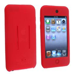 BasAcc Red Silicone Skin Case for Apple iPod Touch 2nd/ 3rd Generation