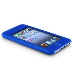 BasAcc Dark Blue Silicone Case for Apple iPod Touch Generation 2/ 3