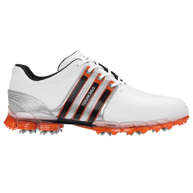Adidas Men's Tour 360 ATV White/ Silver/ Energy Golf Shoes
