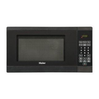 Haier 0.7 Cu. Ft. 700W Microwave Black