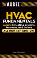 Audel Hvac Fundamentals: Heating Systems, Furnaces and Boilers (Paperback)