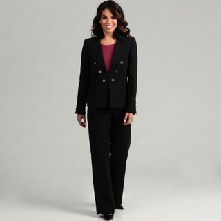 Tahari Women's Military-inspired Pant Suit