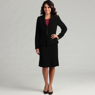 Tahari Women's Crepe 5-button Skirt Suit